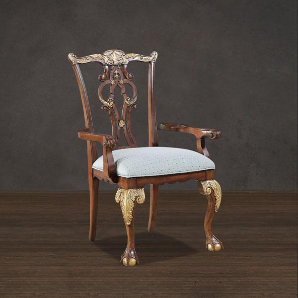 古代椅子雕刻细节
